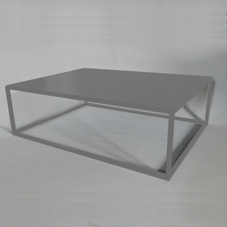 Grey Design Coffee Table