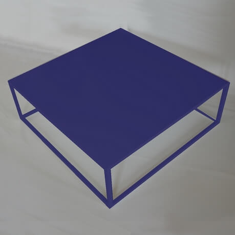blue Design coffee table