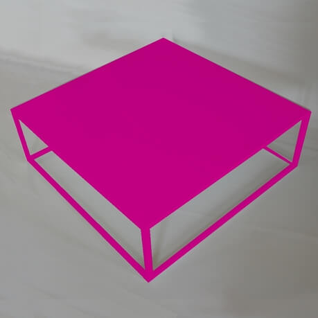 pink Design coffee table